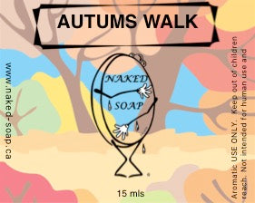 Autumns Walk Fragrance Oil