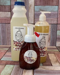 Cranberry & Fig  Liquid Soap Products