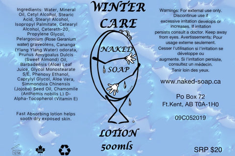 Winter Care Lotion