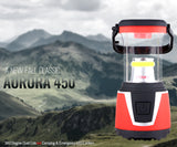 Internova Aurora 450 - 360 Degree Dual Colored LED Camping and Emergency Lantern