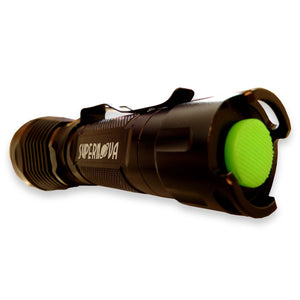 Supernova Guardian 1300XL Tactical Flashlight - Ultra Bright LED with Remote Pressure Switch