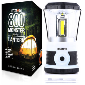 Internova 800 Monster LED Camping Lantern - Tri-Strip LED - (Himalayan White)