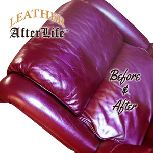 Leather Afterlife Leather Conditioner & Restorer - The Best Leather Protectant - Cars, Furniture, Seats, Shoes, Couch, Boots, Saddles Purses & More