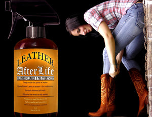 Leather Afterlife - Leather Cleaner & Pre-Treatment