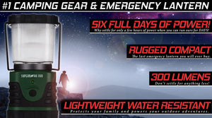 Supernova Ultra Bright LED Camping and Emergency Lantern