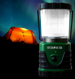 Supernova Ultra Bright LED Camping and Emergency Lantern With Batteries