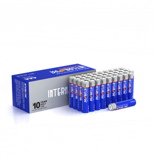 Internova Ultra Alkaline AAA Batteries, Triple A LR3 1.5V Cell High Performance, 40 Pack
