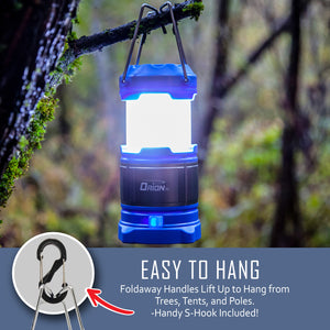Orion XL Rechargeable LED Camping Lantern and Power Bank - (Celestial Blue)