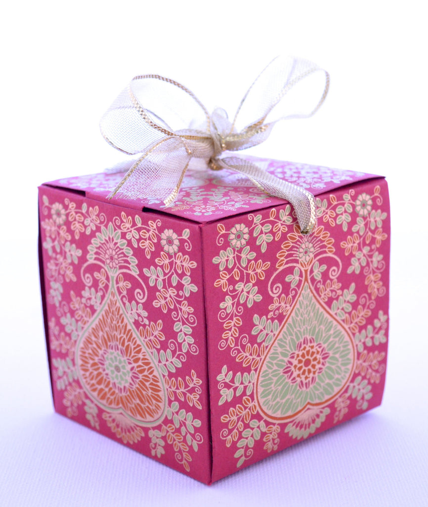 Wedding Favor Gift Box With Ribbon Pen Favor