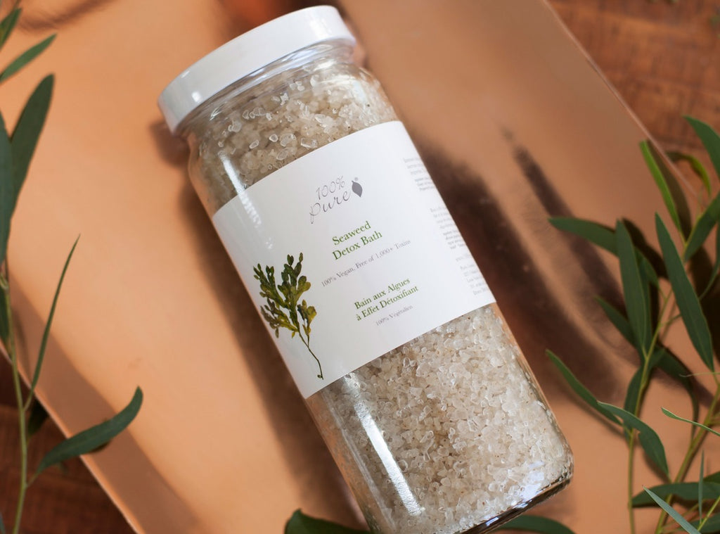 Spotlight Series: 100 Percent Pure's Seaweed Detox Bath