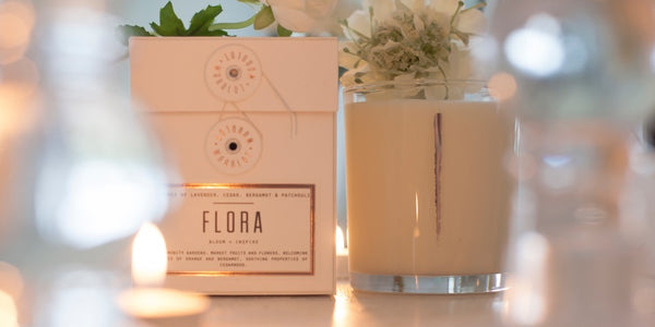 Woodlot Flora Coconut Wax Candle