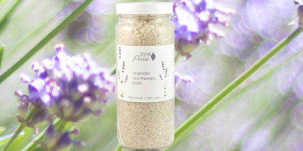 100% Pure Lavender Sea Therapy Bath