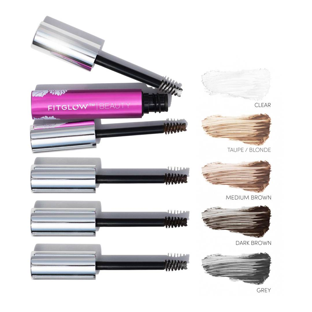 Fitglow Beauty Plant Protein Brow Gel Swatch