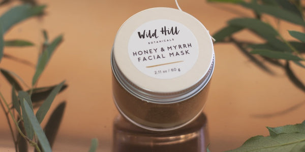Wild Hill Honey & Myrrh Mask