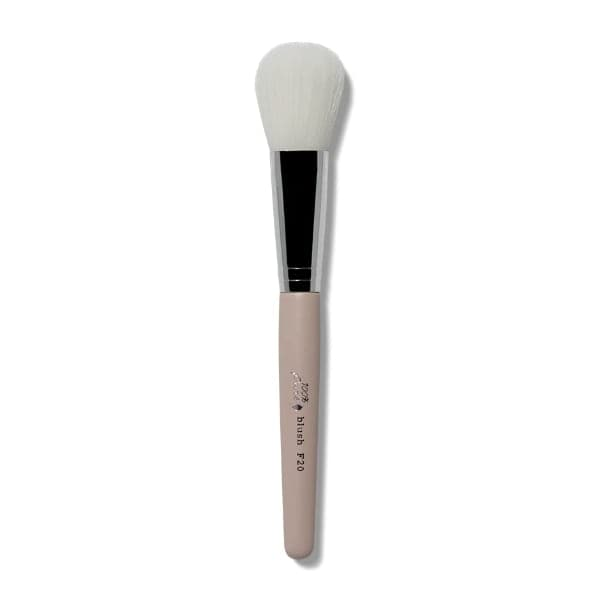 100 Percent Pure Cruelty Free Blush Brush F20 - The Green Kiss