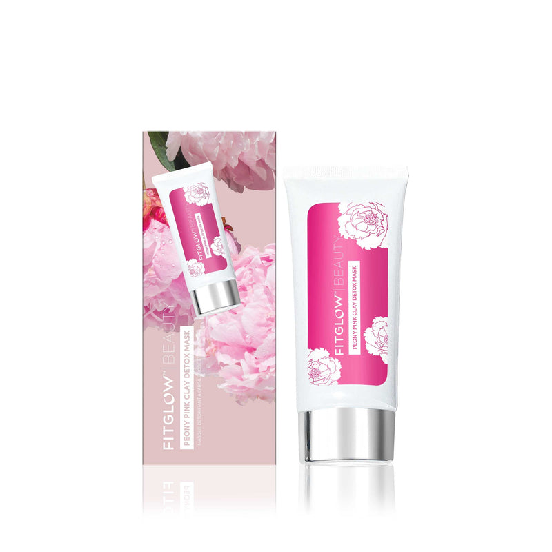 Fitglow Beauty Peony Pink Clay Detox Mask
