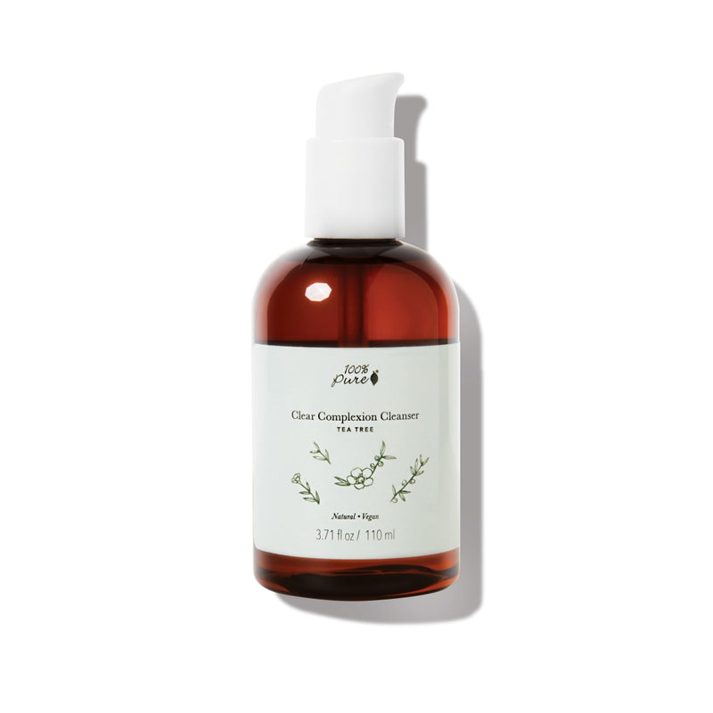 100 Percent Pure Tea Tree Clear Complexion Cleanser