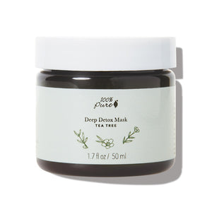 100 Percent Pure Tea Tree Deep Detox Mask