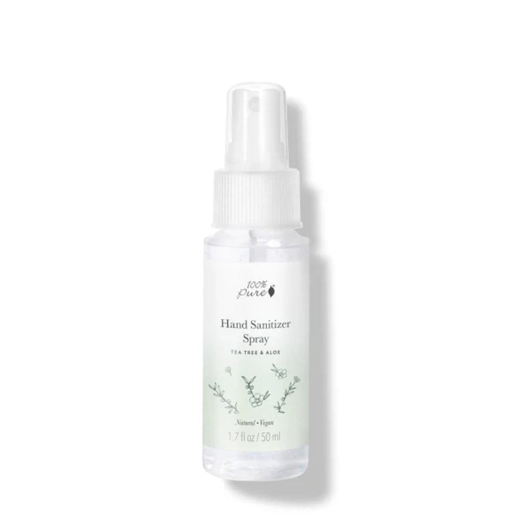 100 Percent Pure Hand Sanitizer Spray - The Green Kiss