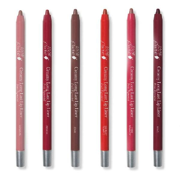 100 Percent Pure Creamy Long Last Lip Liner