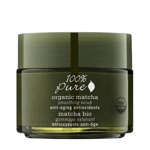 100 Percent Pure Organic Matcha Anti Aging Antioxidants Smoothing Scrub