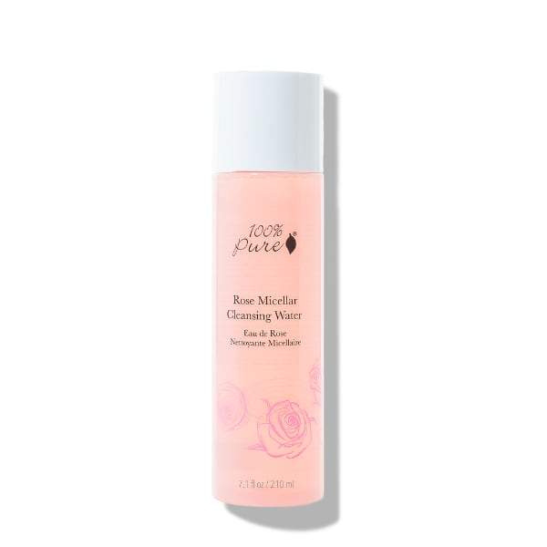 100 Percent Pure Rose Micellar Cleansing Water - The Green Kiss
