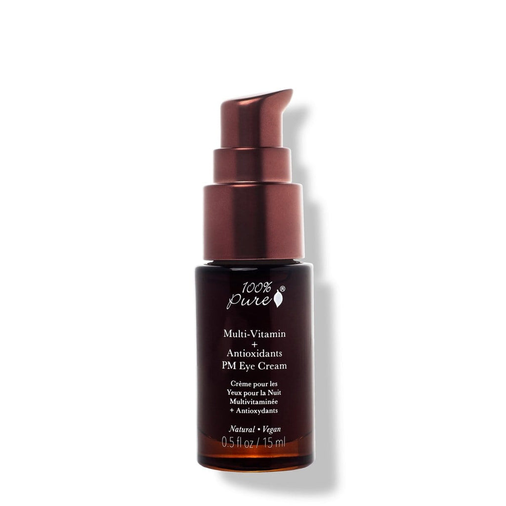 100 Percent Pure Multi-Vitamin + Antioxidants PM Eye Cream - The Green Kiss