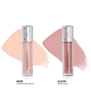 Fitglow Beauty Lip Colour Serum Duo - Bare + Gleam - The Green Kiss