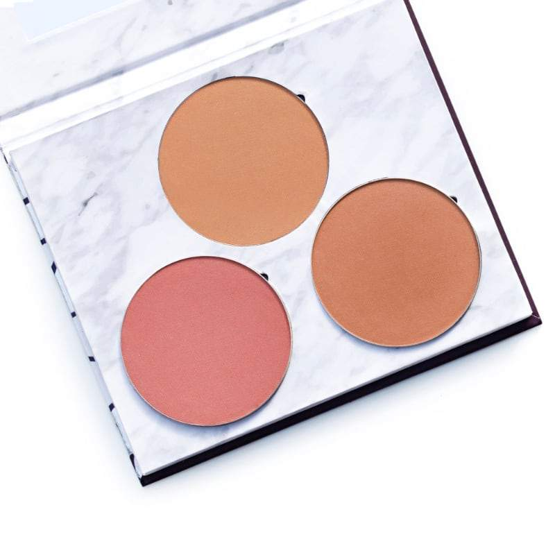 Fitglow Beauty Sunny Days Cheek Palette - The Green Kiss