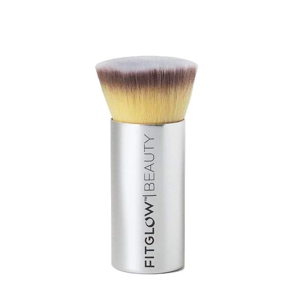 Fitglow Beauty Vegan Teddy Foundation Brush - The Green Kiss