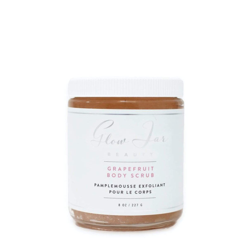 Glow Jar Grapefruit Body Scrub - The Green Kiss