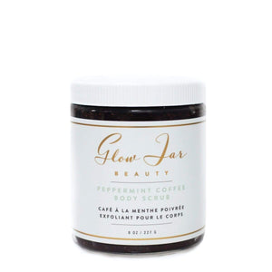 Glow Jar Peppermint Coffee Body Scrub - The Green Kiss
