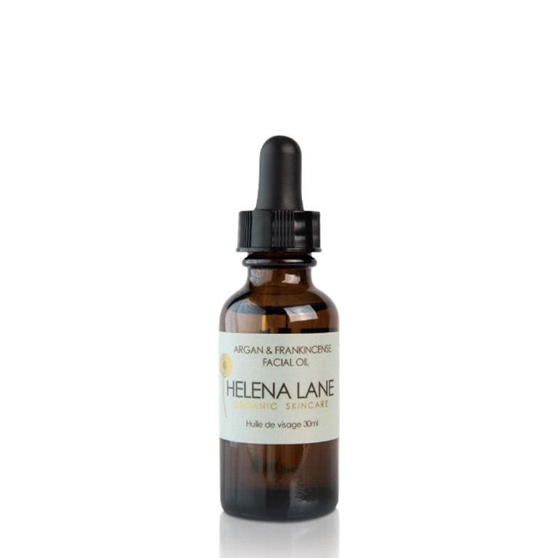Helena Lane Argan & Frankincense Facial Oil - The Green Kiss