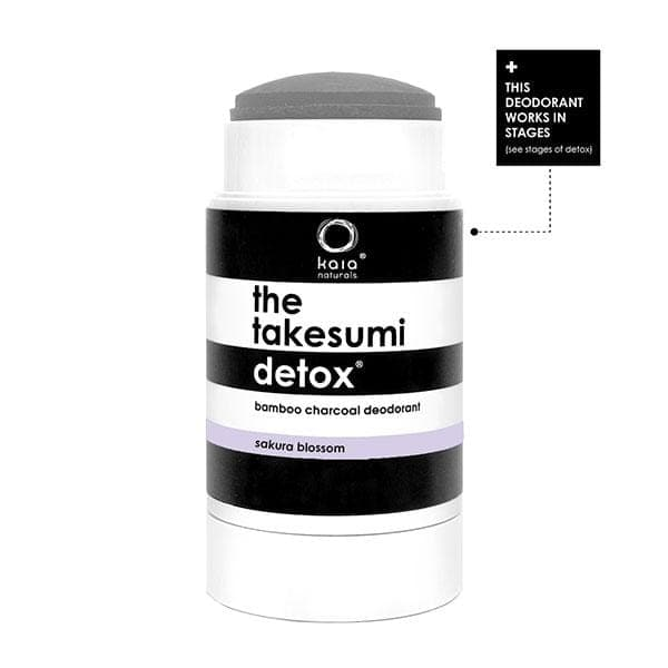 Kaia Naturals Takesumi Detox Sakura Blossom - The Green Kiss