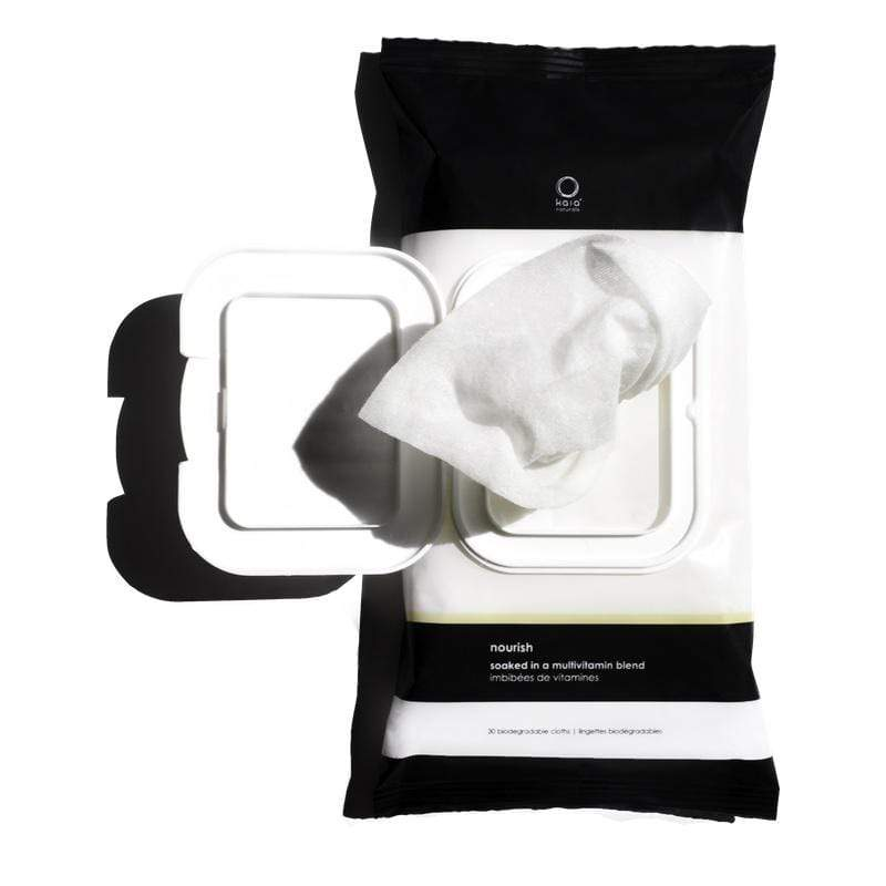 Vitamin Cleansing Cloth Open