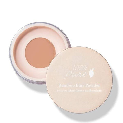 100 Percent Pure Bamboo Blur Powder In Tan