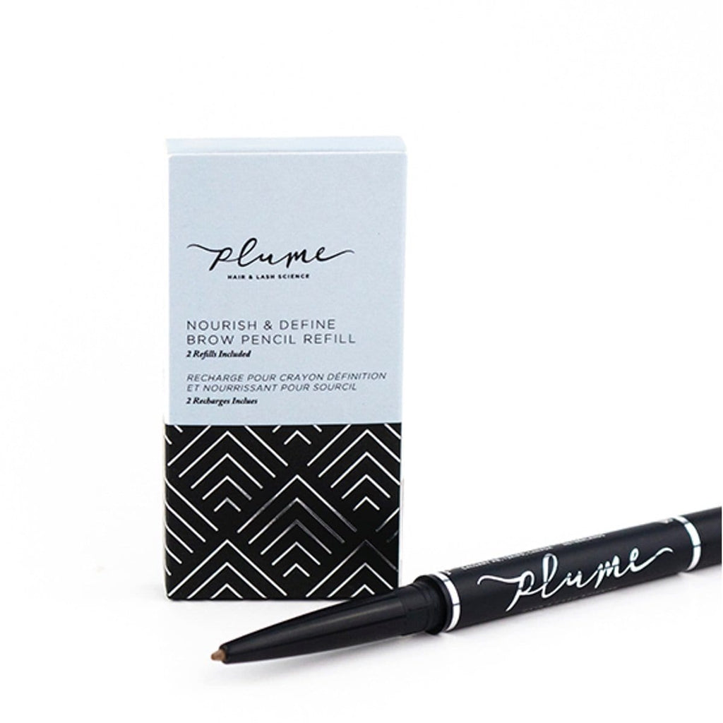 Plume Nourish & Define Brow Pencil Refill - 2 Pack - The Green Kiss