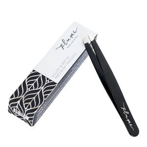 Plume Sculpt & Refine Precision Tweezers - The Green Kiss