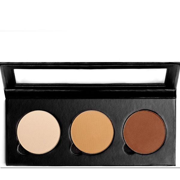 Sappho New Paradigm Triple Compact for Blushes and or Face Powders