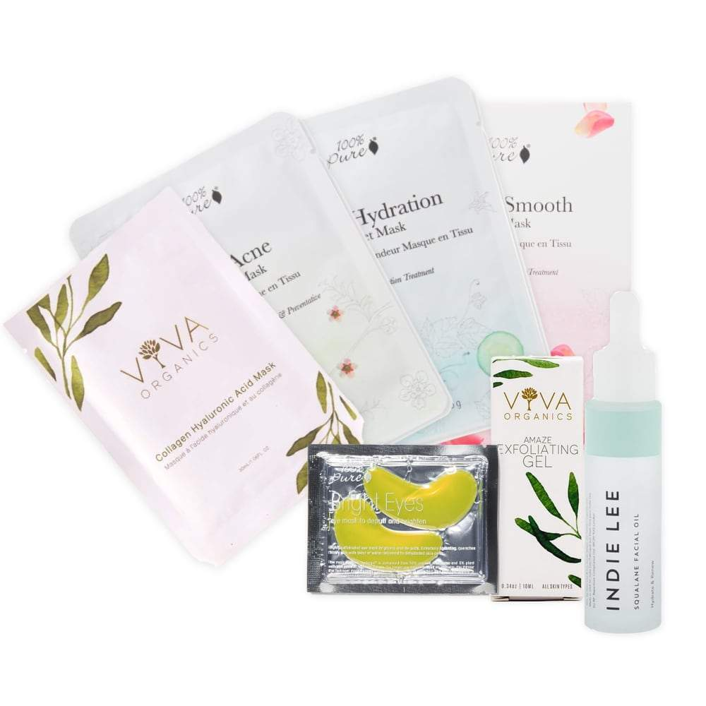 Stay At Home Spa Kit - Deluxe - The Green Kiss