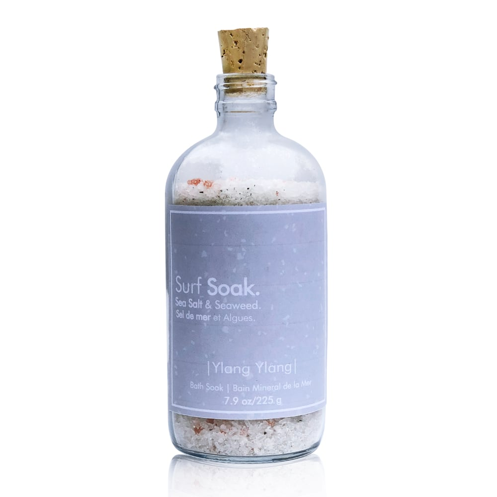 Surf Soak Sea Salt & Ylang Ylang 225g Bottle