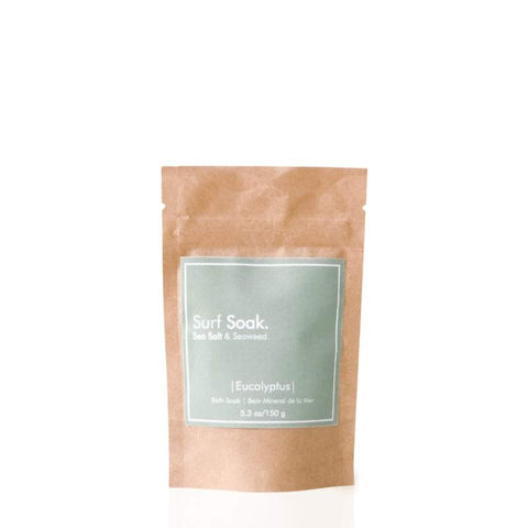 Surf Soak Sea Salt & Seaweed 150g Pouch