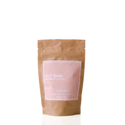 Surf Soak Sea Salt & Rose 225g Bottle