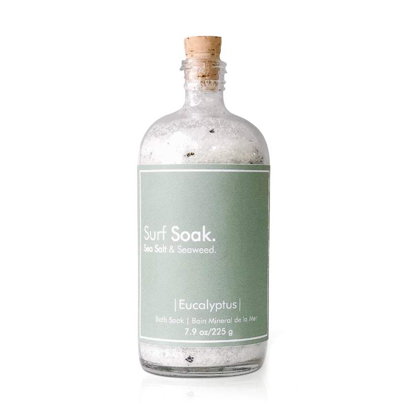 Surf Soak Sea Salt & Eucalyptus 225g Bottle - The Green Kiss