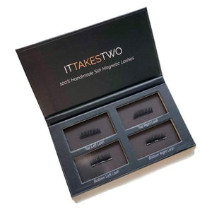 TOK BEAUTY IT TAKES TWO! MAGNETIC LASHES - AU NATUREL