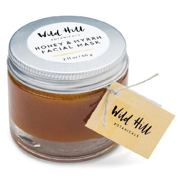 Wild Hill Botanicals Honey & Myrrh Face Mask