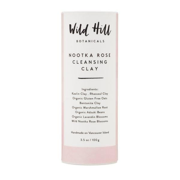Wild Hill Botanicals Nootka Rose Cleansing Clay - The Green Kiss