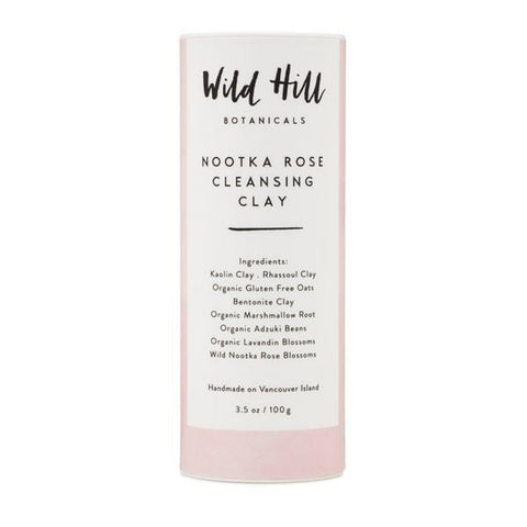 Wild Hill Botanicals Nootka Rose Cleansing Clay