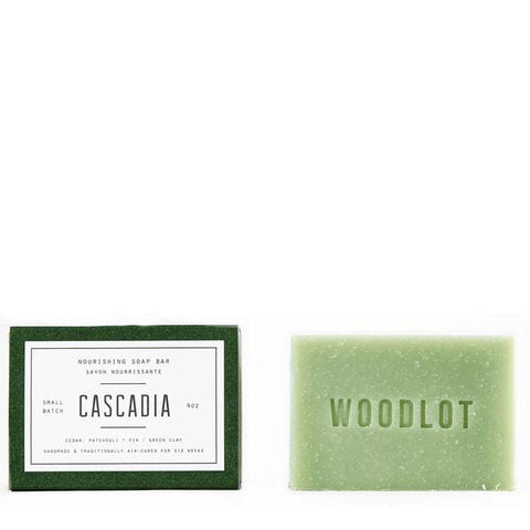 Woodlot Bar Soap in Cascadia
