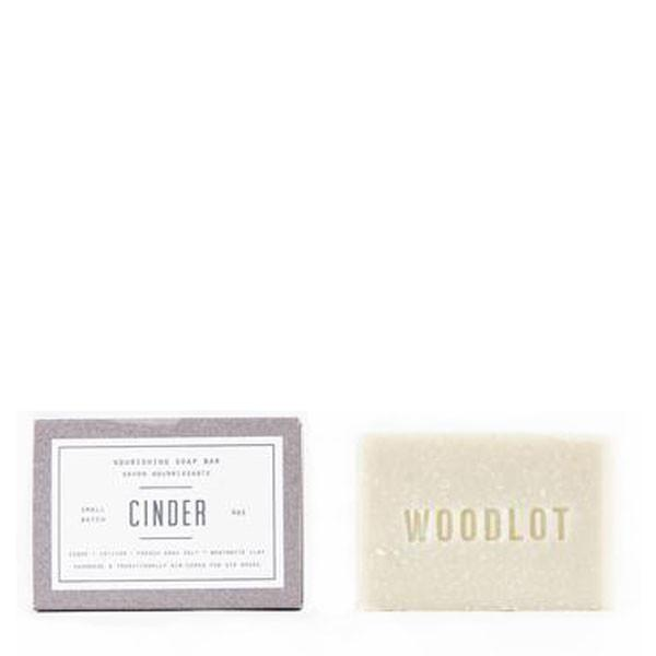 Woodlot Bar Soap in Cinder - The Green Kiss